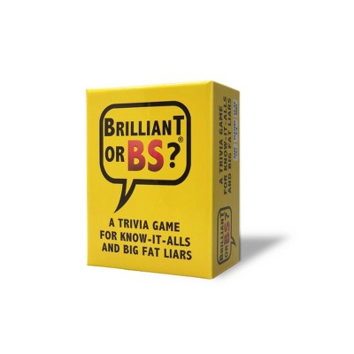 Brilliant or BS? Game