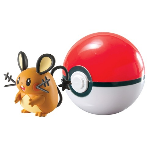 Pokmon Clip 'n' Carry Pok Ball, Dedenne and Pok Ball - image 1 of 1