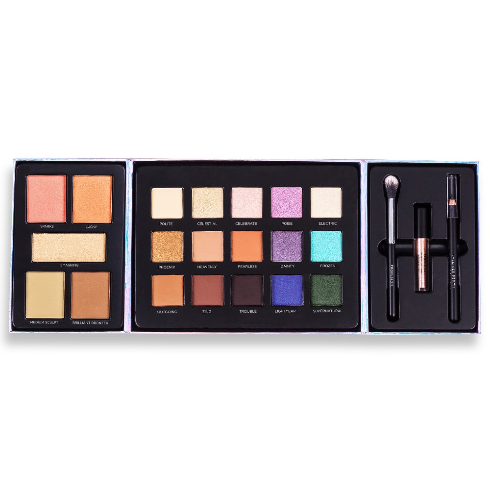 Profusion Cosmetics Cosmetic Set Beauty Collection - 8.6oz, Multi-Colored