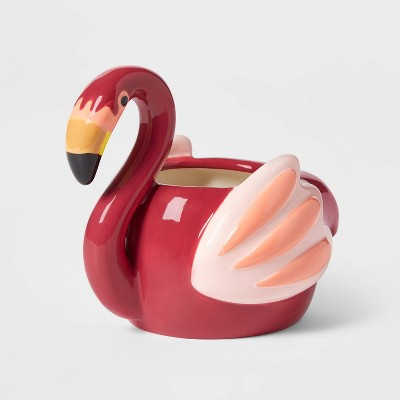 Flamingo Outdoor Patio Planter - Sun Squad™