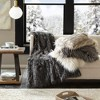 Adelaide Faux Fur Throw - image 3 of 4