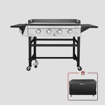 Royal Gourmet 36'' 4-burner Gas Griddle With Cover GB4001C Black