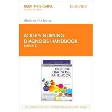 Nursing Diagnosis Book