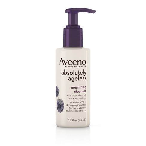 Aveeno® Absolutely Ageless™ Facial Nourishing Anti-Aging Cleanser - 5.2 fl oz - image 1 of 8