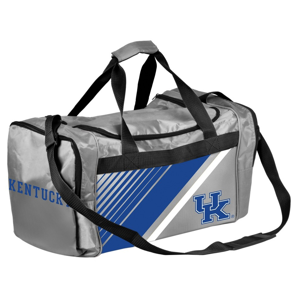 Forever Collectibles Border Stripe Daypack Duffle Bag - University of Kentucky Wildcats
