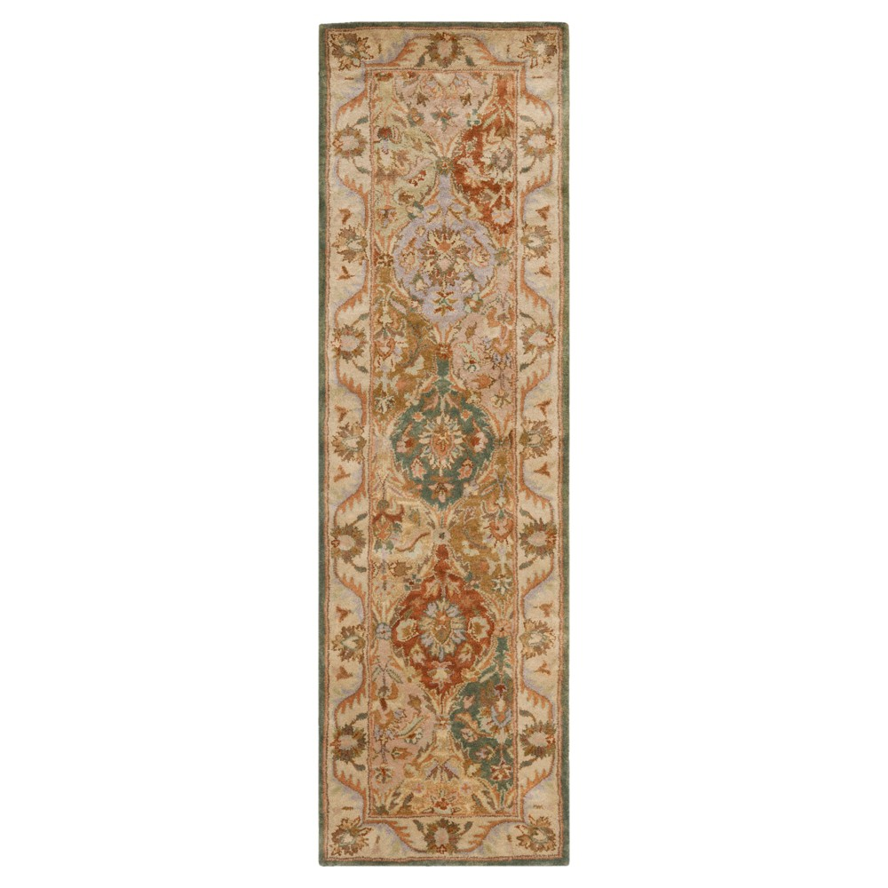 Floral Tufted Runner 2'3X8' - Safavieh, Multi-Colored