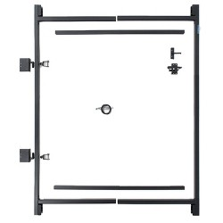 "Adjust-A-Gate Steel Frame Gate Building Kit, 36""-60"" Wide Opening Up To 5' High"