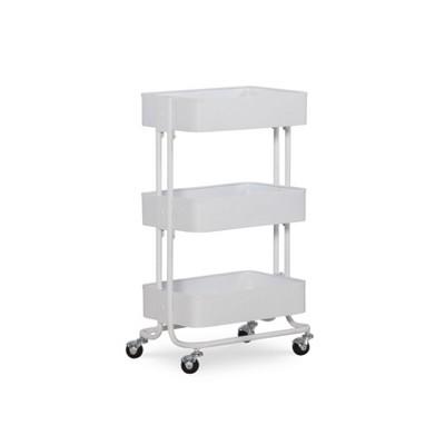 Three Tier Cart White - Linon
