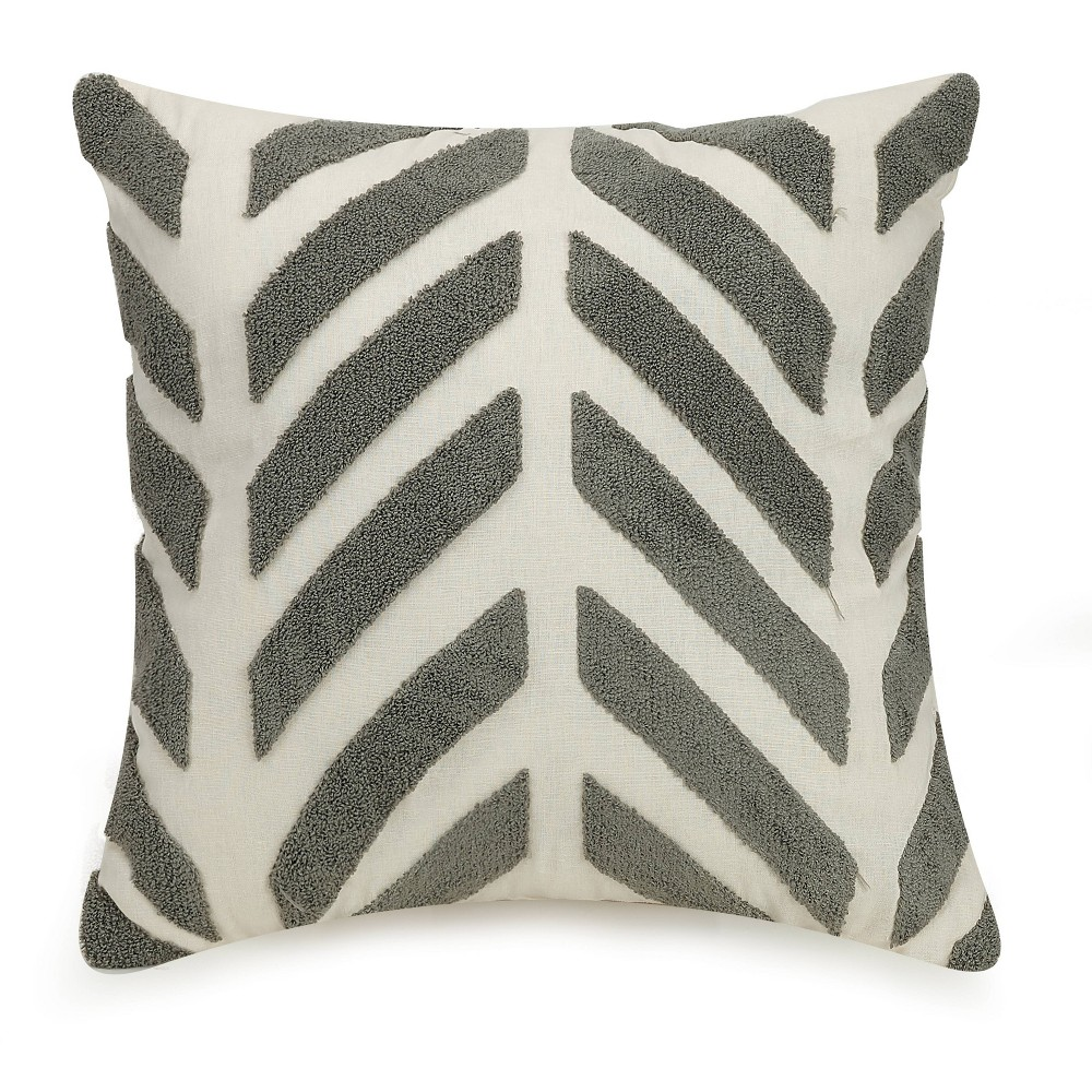 Image of Chevron Square Decorative Throw Pillow - Ayesha Curry