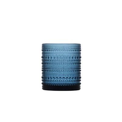 10oz 6pk Glass Jupiter Double Old Fashion Glasses Blue - Fortessa Tableware Solutions