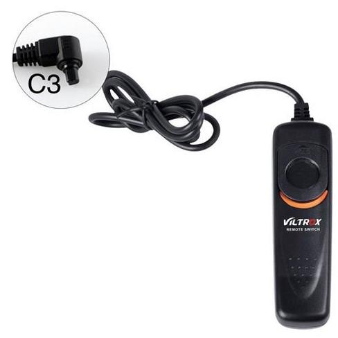 Viltrox SR-C3 Shutter Release Cable for Canon DSLR, 1m - image 1 of 1