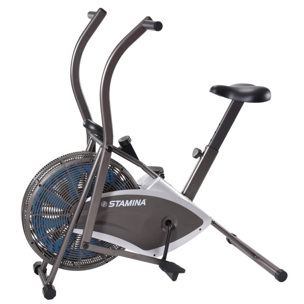 Stamina Air Resistance 876 Exercise Bike Black White