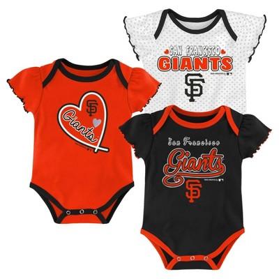 MLB San Francisco Giants Girls' Bodysuit - 0-3M