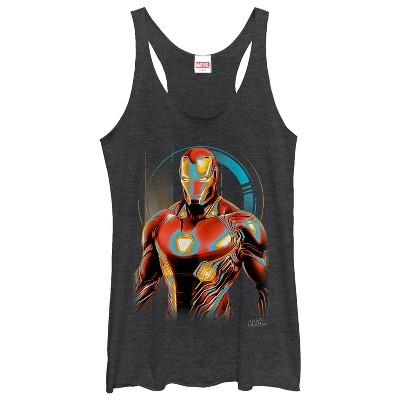 Women's Marvel Avengers: Infinity War Iron Man Future Racerback Tank Top