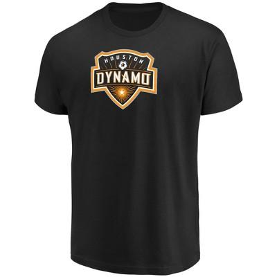 MLS Houston Dynamo Men's Short Sleeve Top Ranking Core T-Shirt