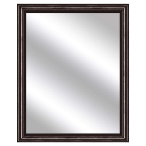 Decorative Wall Mirror PTM Images Brown - image 1 of 1