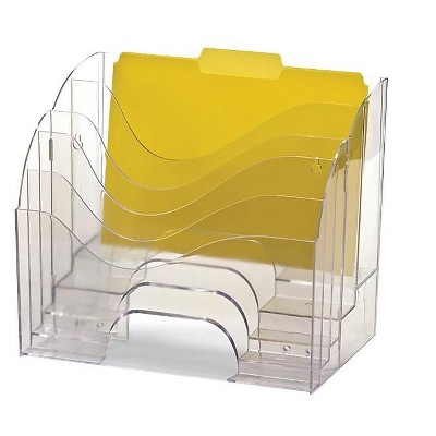 Officemate Plastic File Organizer, Clear (22924)