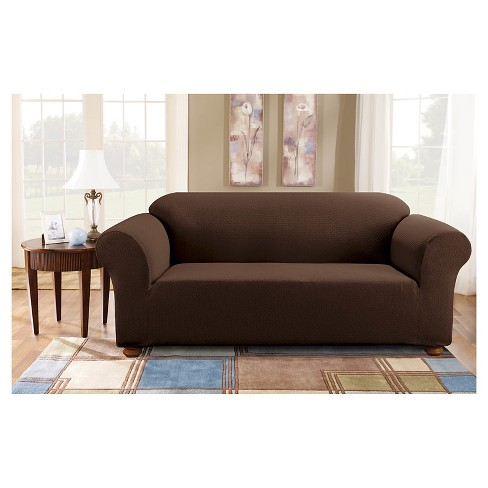 Sure Fit Stretch Subway Sofa Cover Target