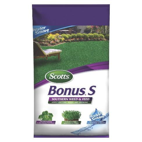 Scotts 5000 sq ft Turf Builder Bonus Southern Weed & Feed Fertilizer - image 1 of 1