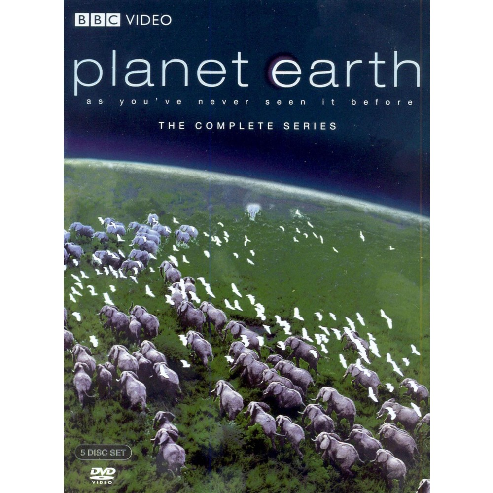 Planet Earth: The Complete Series (5 Discs) (dvd_video)