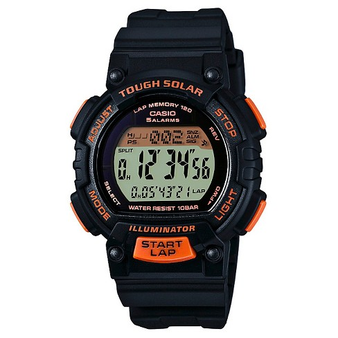Women's Solar Runner Watch Black - Casio® - image 1 of 1