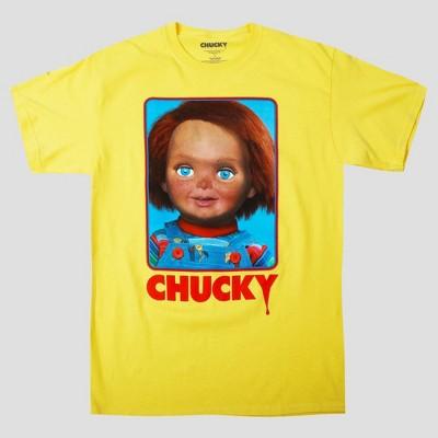 Men's Universal Chucky Short Sleeve Graphic T-Shirt - Gold