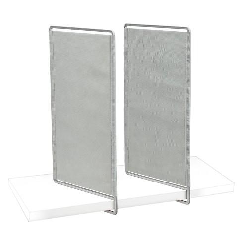lynk vela shelf dividers set of 4 closet shelf organizer