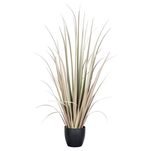 "Artificial Gladiolus Grass w/Pot (72"") Purple/Green - Vickerman - image 1 of 1"