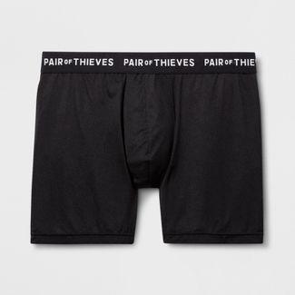 Pair of Thieves Men's UltraLight Boxer Briefs - Black S