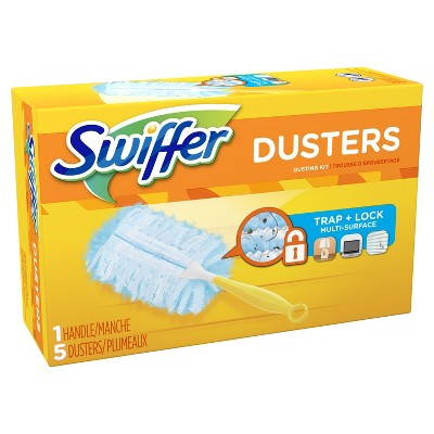 Swiffer 180 Dusters Starter Kit Unscented - 5ct