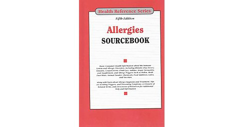 Allergies Sourcebook (Hardcover) - image 1 of 1
