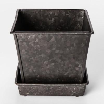 Galvanized Planter Pot Small - Smith & Hawken™