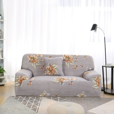 1 Pc Polyester Spandex Elastic Home Sofa Slipcovers - PiccoCasa