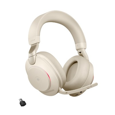 Jabra Evolve2 85 - USB-C MS Teams Stereo - Beige Wireless Headset / Music Headphones