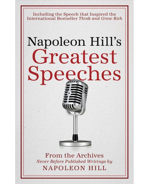 Napoleon Hill's Greatest Speeches (Hardcover) - image 1 of 1