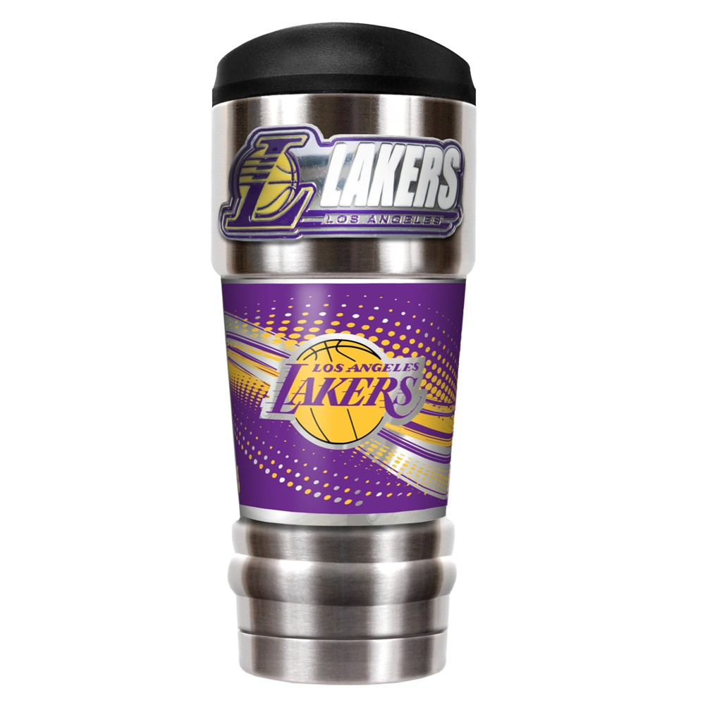 NBA Los Angeles Lakers 18oz Mvp Vacuum Insulated Stainless Steel Travel Tumbler