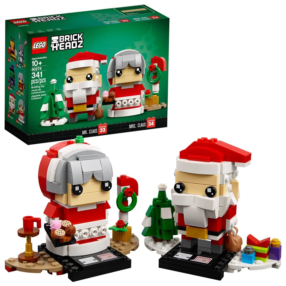 LEGO BrickHeadz Mr. and Mrs. Claus 40274
