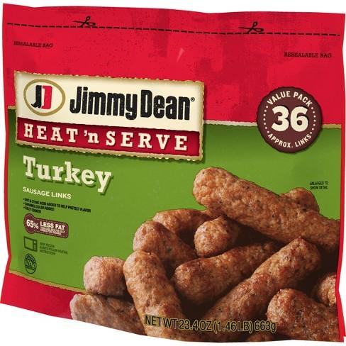 Jimmy Dean Turkey Frozen Sausage Links