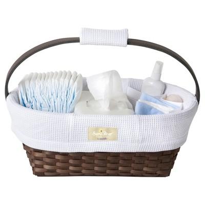 Munchkin SaraBear® Portable Diaper Caddy - White