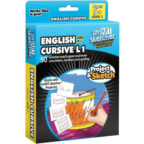 smART Sketcher Learn-A-Language English Cursive 9+ - image 1 of 1