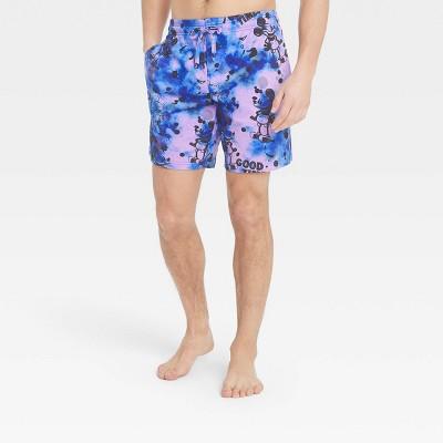 Men's Disney Mickey Pajama Shorts - Pink