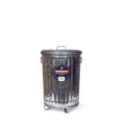 Behrens 20gal Galvanized Steel Composter Can with Lid
