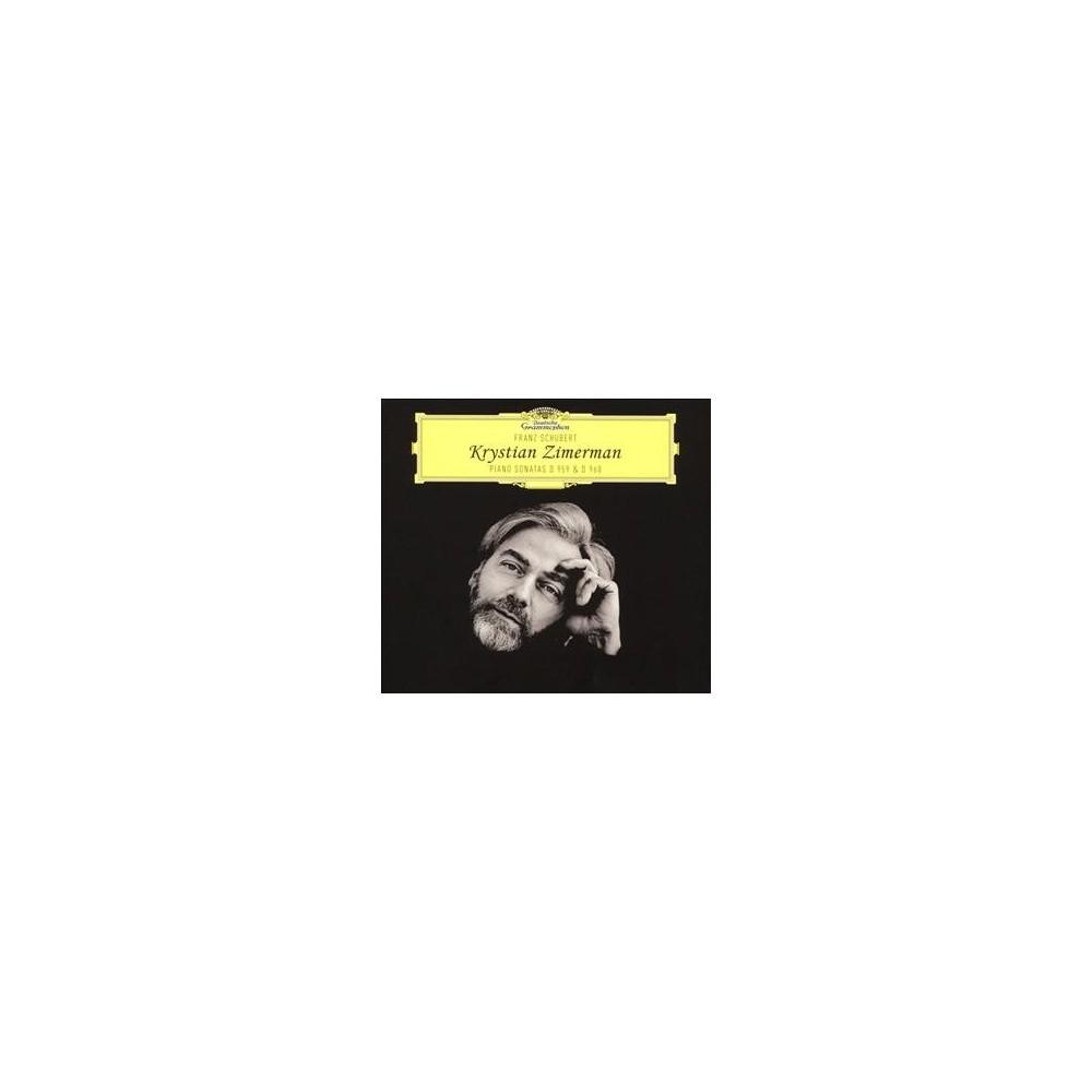 Krystian Zimerman - Schubert Piano Sonatas D959 & 960 (CD)