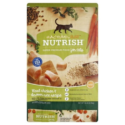 Rachael Ray Nutrish Natural Dry Cat Food  Chicken & Brown Rice Recipe - image 1 of 4
