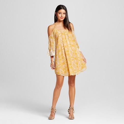 Women s Cold Shoulder Dress - Xhilaration™ (Juniors )   Target 0204df2ef