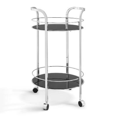 Girard Cart Chrome Silver - Powell Company