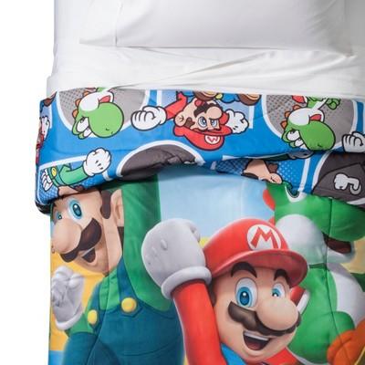 Nintendo Mario Twin Comforter