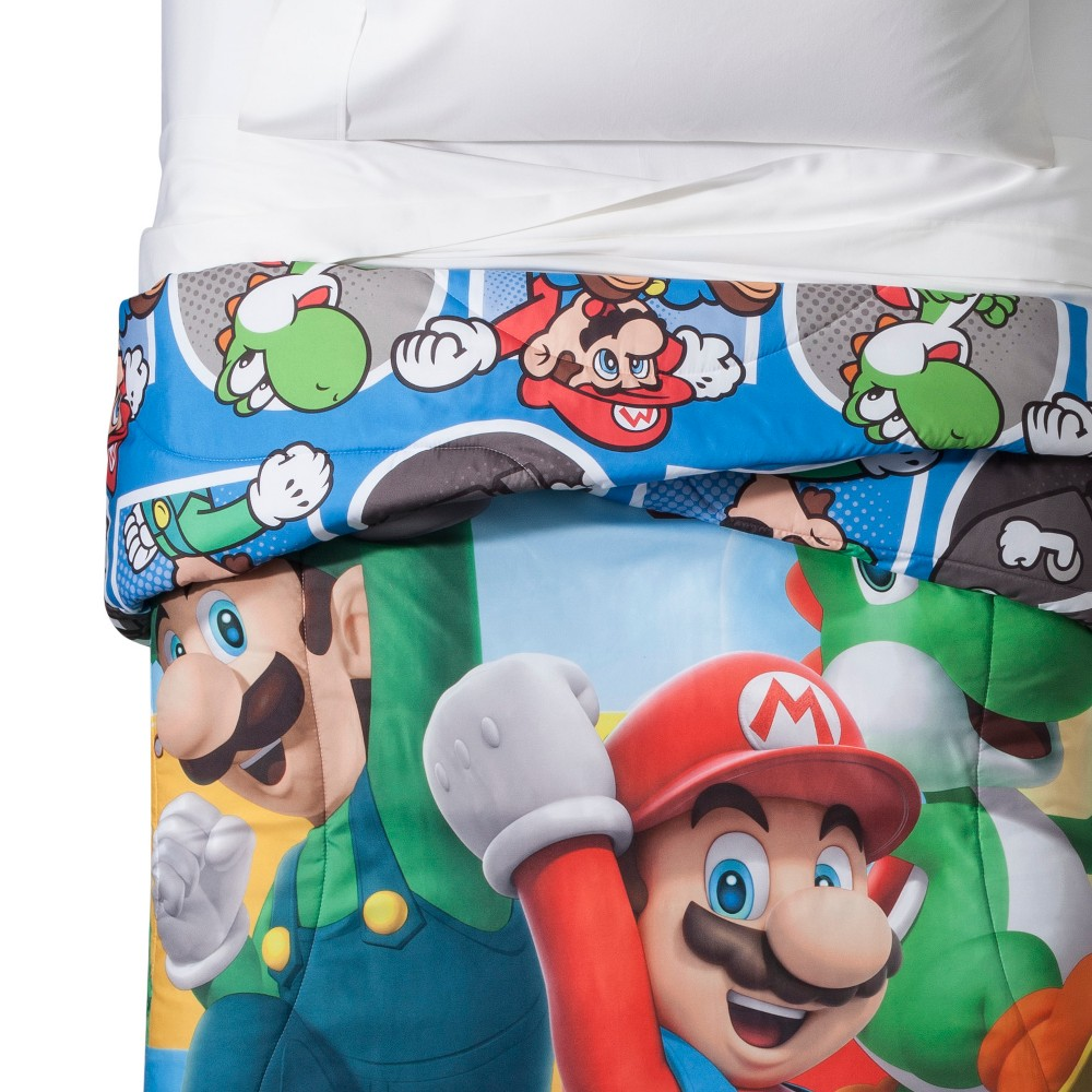 Image of Nintendo Mario Twin Comforter