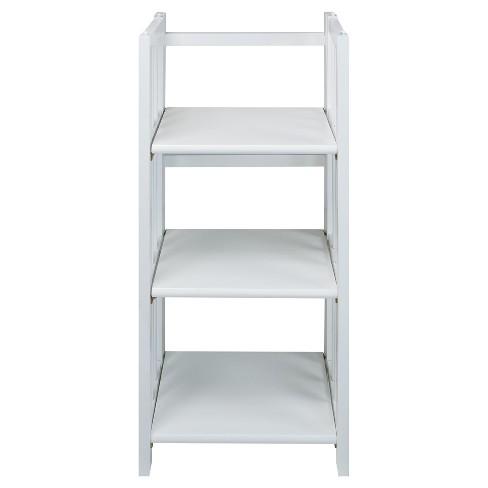 "38"" 3-Shelf Folding Bookcase - Flora Home - image 1 of 4"