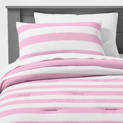 Rugby Stripe Comforter Set - Pillowfort™